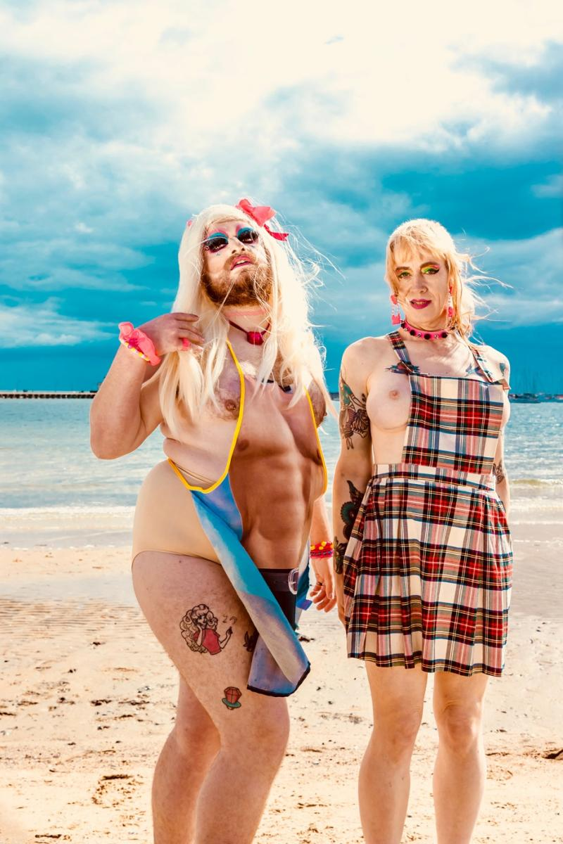 St Kilda Beach Girls