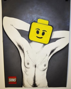 Trans Lego Logo Drawing