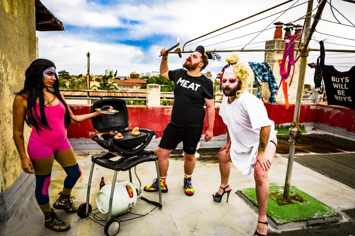 Queering the Aussie BBQ Photographic Series